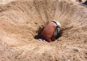 buca sabbia